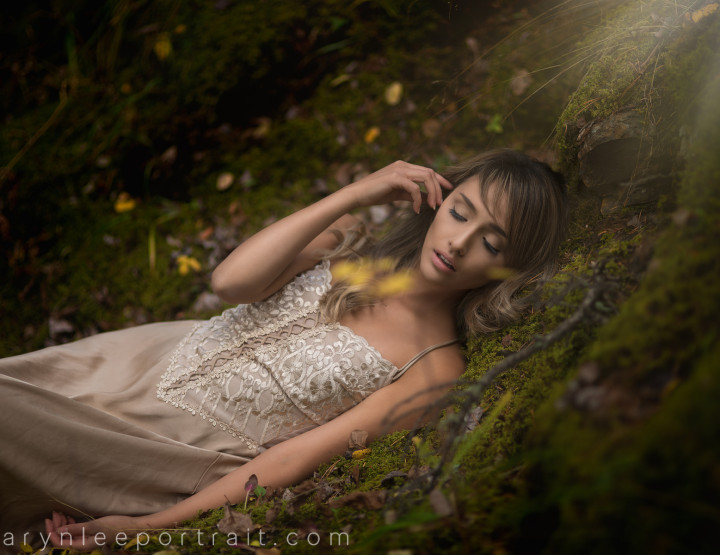Speed Edit with TK in the Moss :: YYC Fashion Photography