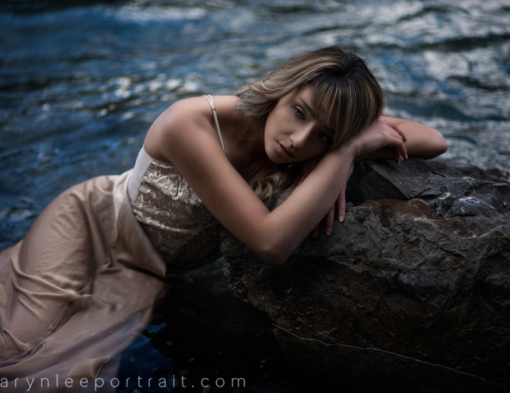 Speed Edit with Taralyn Kate In the Water  :: YYC Fashion Photographer
