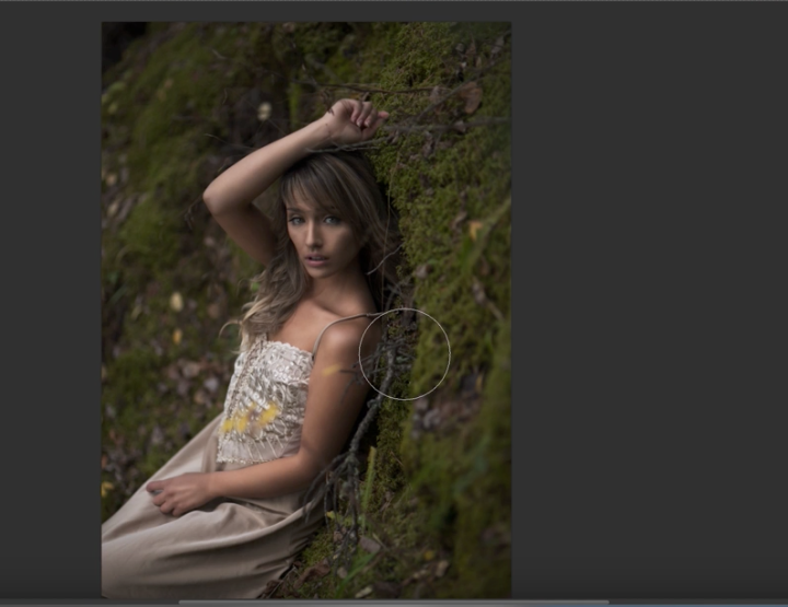 Tutorial :: Adding a Natural Vignette and Light Source