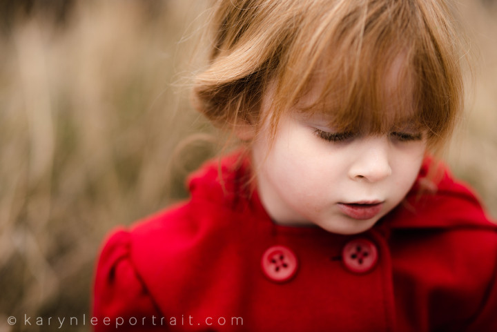 Miss Audrey :: Children's Portrait